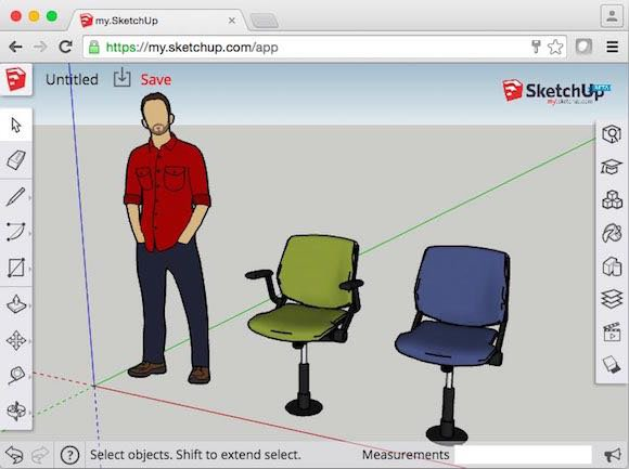 SketchUp- 3d modeling in your browser