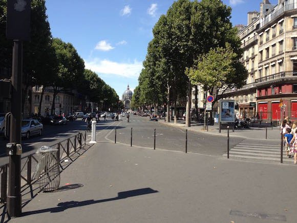 Boulevard Malesherbes with a view of Saint Augustin