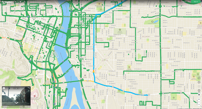 Portland Mapillary Coverage