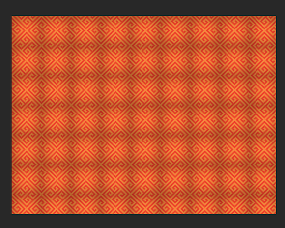 Pattern using unevenly shaded texture.