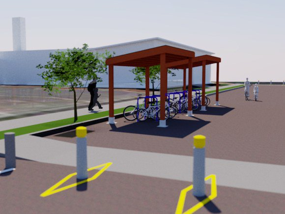 CJ Bicycle Shelter