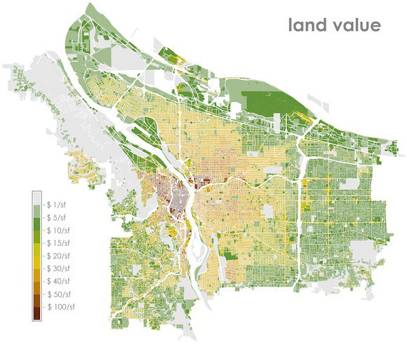 Land Value Map