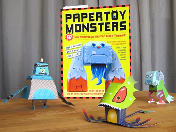 Our inspiration was the Papertoy Monsters book.