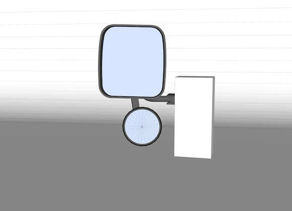 Mirror in Sketch-up