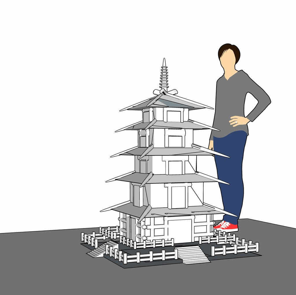 Imported into SketchUp